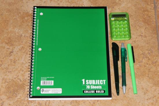 Notebook  Pens