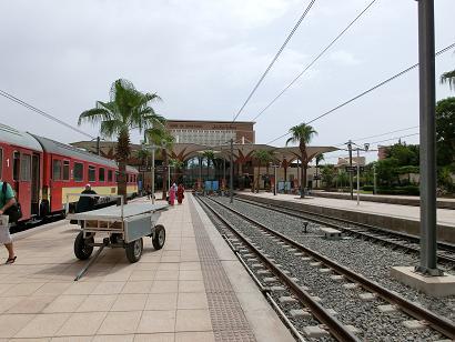 マラケシュ→カサブランカ列車2