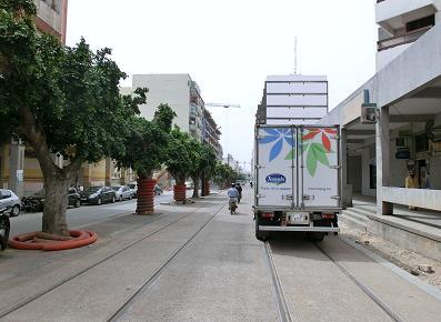 カサブランカ駅からホテルへ2
