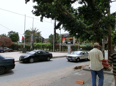 カサブランカ駅からホテルへ3