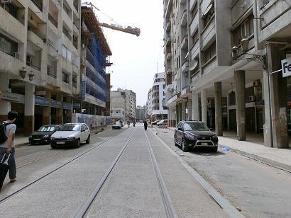 カサブランカ駅からホテルへ10