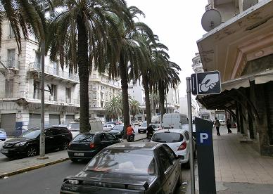 カサブランカ駅からホテルへ13