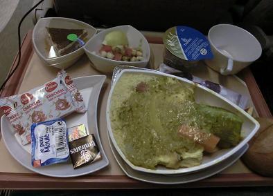 エミレーツ機内食 カサブランカ→ドバイ3