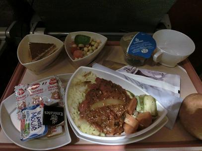 エミレーツ機内食 カサブランカ→ドバイ4