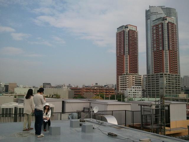 2012-05-21 屋上から六本木ヒルズ