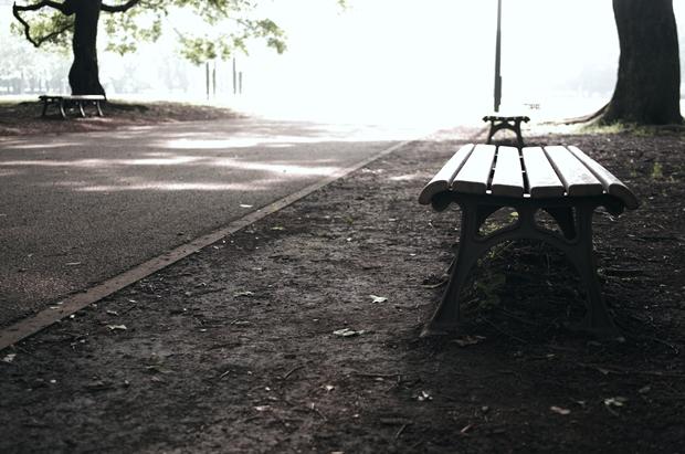 気になるベンチは沢山あれど、なかなか上手く写せんよー!