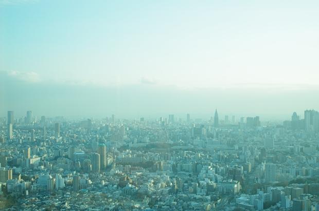 新宿が見えるぅぅ都庁は入場無料なのにぃぃぃ。