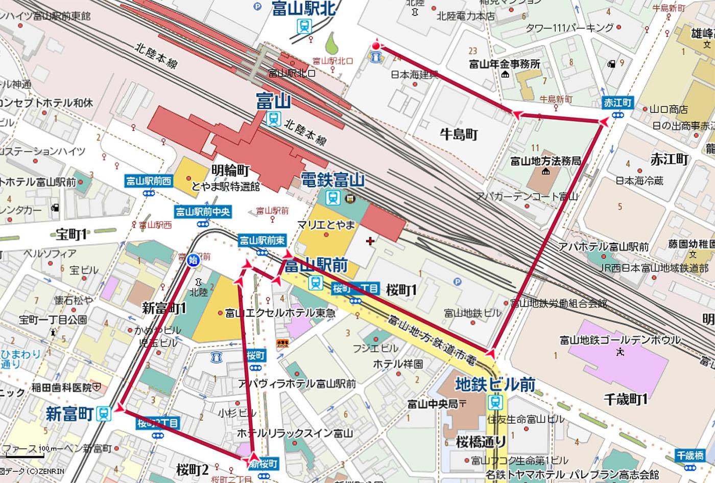 20121111パレードコース地図sml