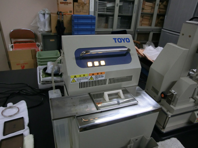 富山県農業研究所で食味測定をして頂きました