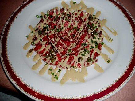 6牛生肉・胡麻サラダ0711190005