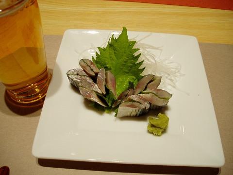 3ささ鮨(コハダのおつくり)