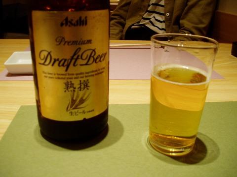 2ささ鮨(ビール)
