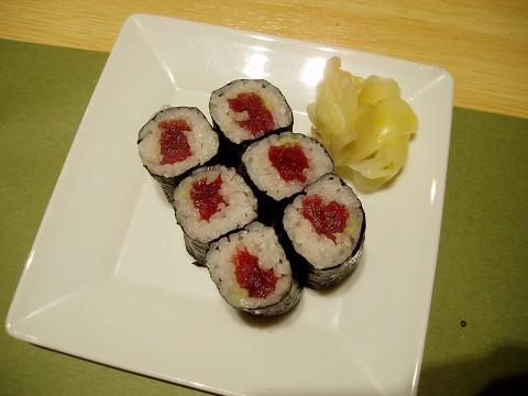10ささ鮨(鉄火巻き)