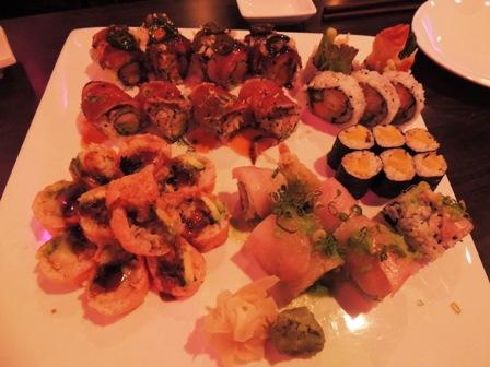AKIRAのお寿司