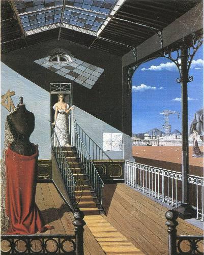 デルヴォー、階段1948