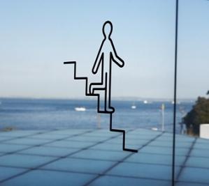 よ○○○廣村正彰、ピクトグラム、横須賀美術館
