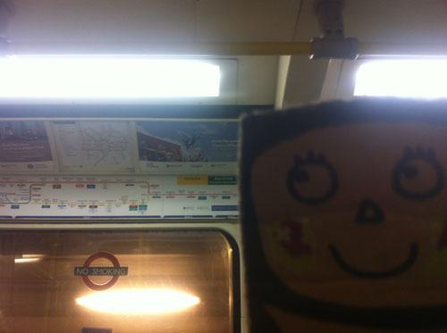 ringo in the subway