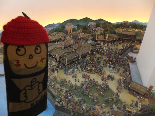 ⑤小倉城ジオラマ