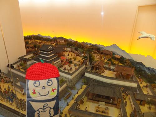 ④小倉城ジオラマ