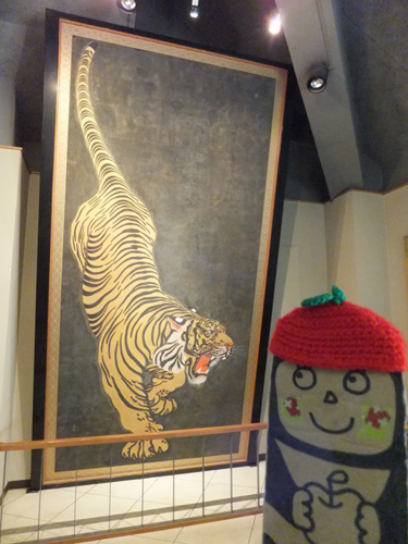 ⑪小倉城送り虎