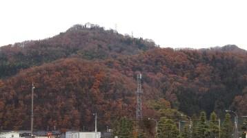 守山城遠望(東から)