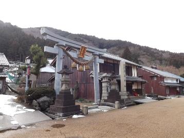 熊川宿白石神社