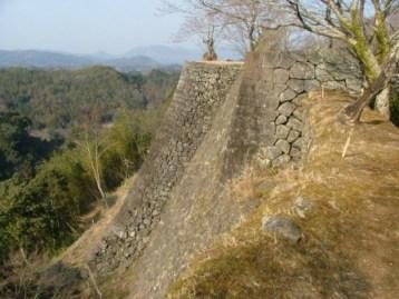 岡城三の丸石垣