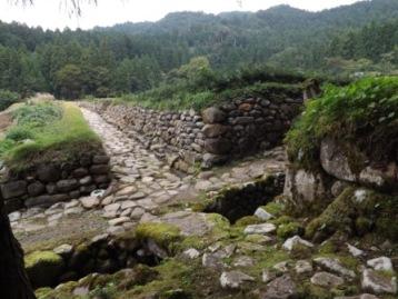 平泉寺旧境内石畳道