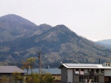 野津又城遠望(西から)