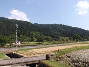 朝倉館と山城