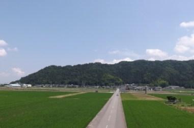 成願寺城遠望