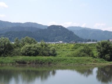 槇山城遠望