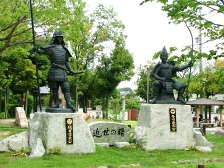 桶狭間古戦場跡(緑区有松町)