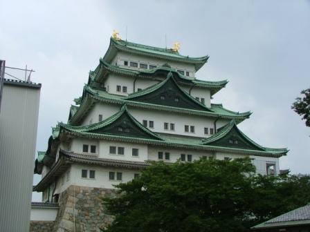 復元工事中の名古屋城