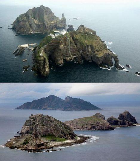 竹島、尖閣の領土問題