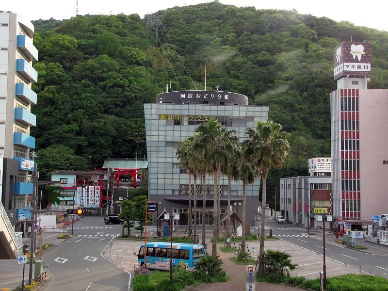 徳島の眉山1