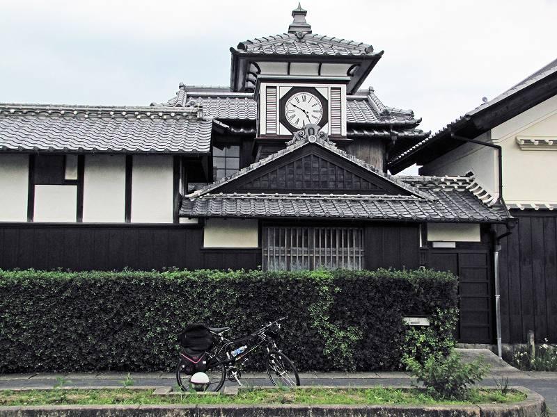 野良時計と自転車