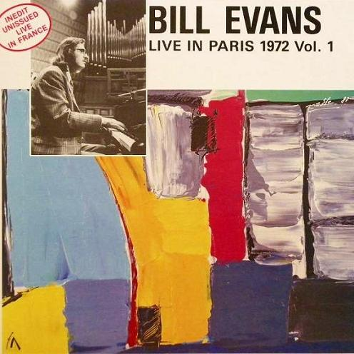Bill Evans Live In Paris 1972 Vol.1 Esoldun-Ina FC 107