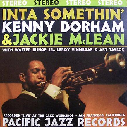 Kenny Dorham  Inta Somethin Pacific Jazz ST-41