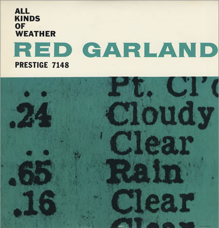 Red Garland All Kinds Of Weather Prestige PRLP 7148