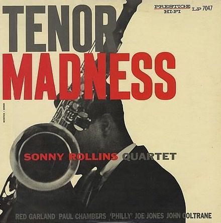 Sonny Rollins Tenor Madness Prestige PRLP 7047
