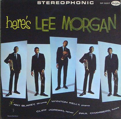 Lee Morgan  Heres Lee Morgan Vee Jay VJLP SR-3007