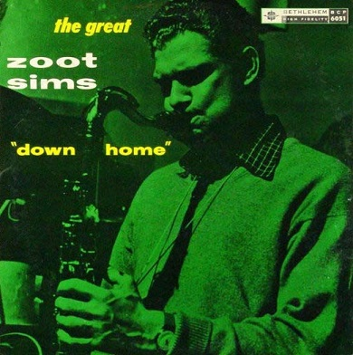 Zoot Sims Down Home Bethlehem BCP 6051