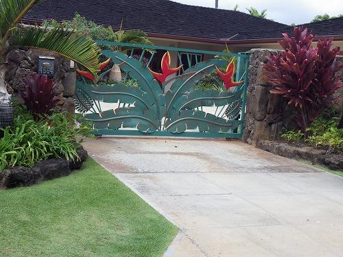 壁 門 柵  (2)
