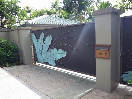 壁 門 柵  (4)