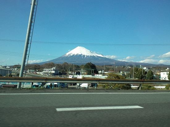 静岡側からの富士山