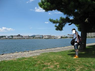 松江旅行:宍道湖②