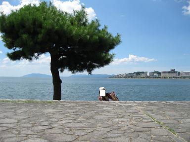 松江旅行:宍道湖①