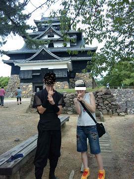 松江城 忍者