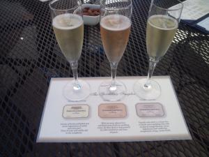 ドメーヌ・カローネス シャンパン3種